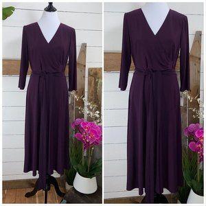 Ralph Lauren NWT  Purple Dress Size 10